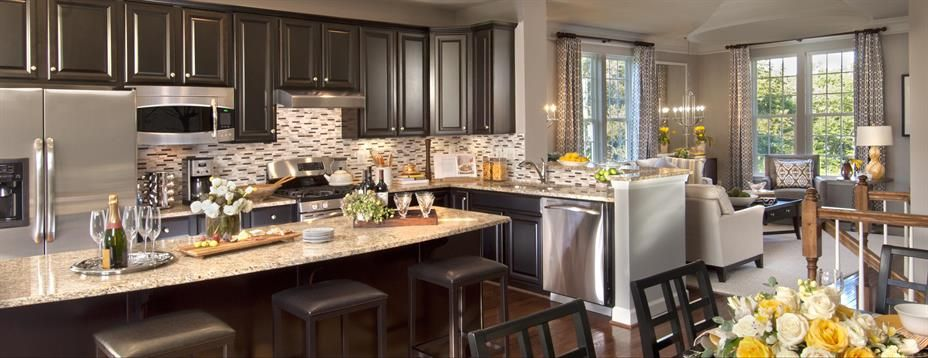 New Strauss Attic Townhome Model For Sale At Waterford Hills In