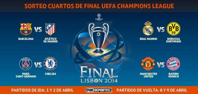 Cuartos de Champions!! | Cuartos de Champions!! | Pinterest