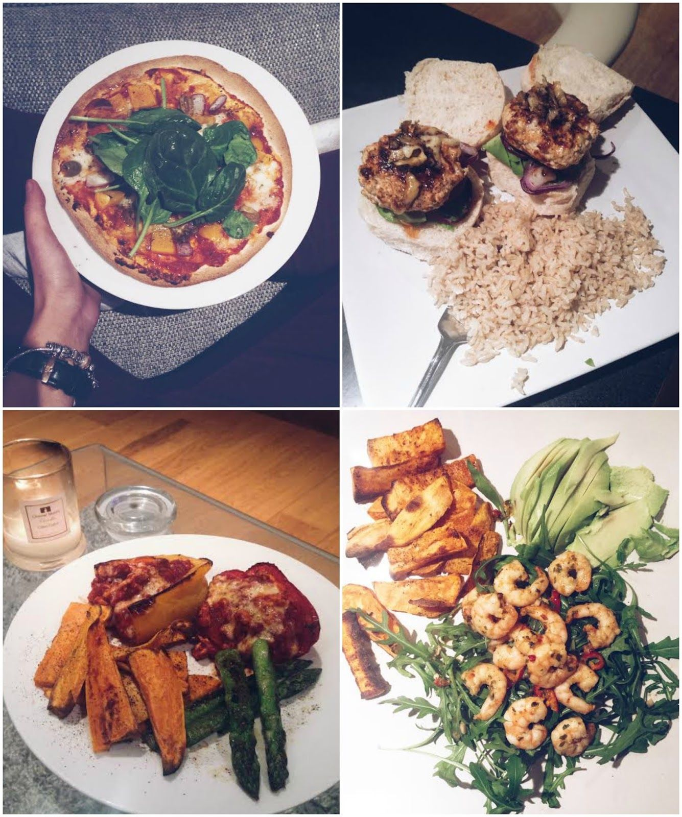 healthy meal ideas, four healthy recipes, low calorie meals, healthy