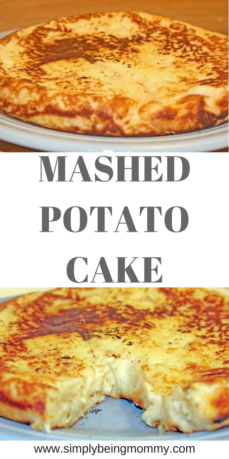 Mashed Potato Cake #potatopancakesfrommashedpotatoes