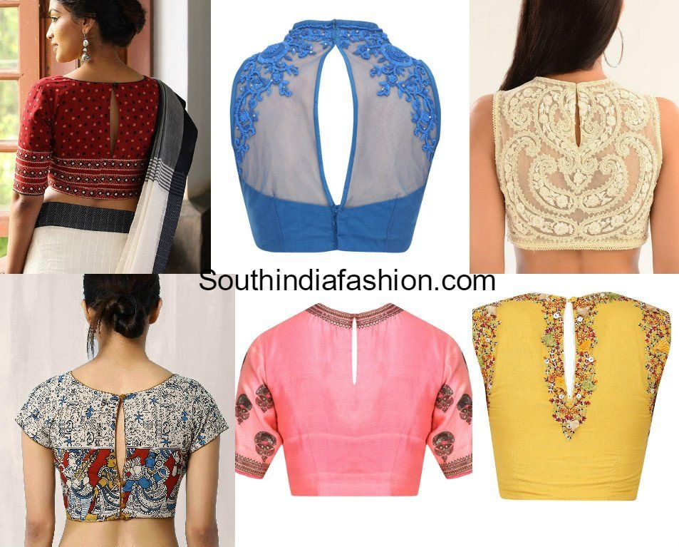 Top 8 Most Trending Blouse Back Neck Designs For 2017 ...