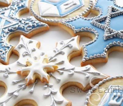Sweetambs Hanukkah Cookies Cookies Hannukah Cookies Christmas