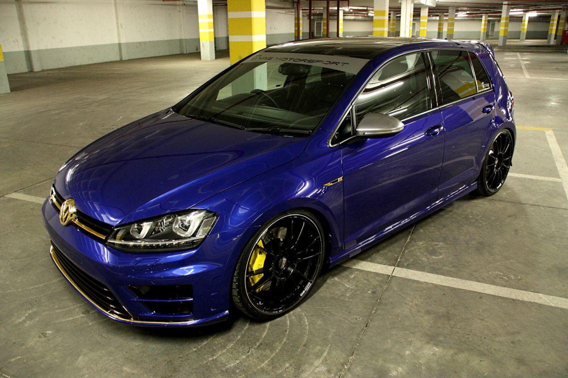 Vag Motorsport S Apr R In Blue With Oz 20 S Big Brakes Carros Volkswagen Motos