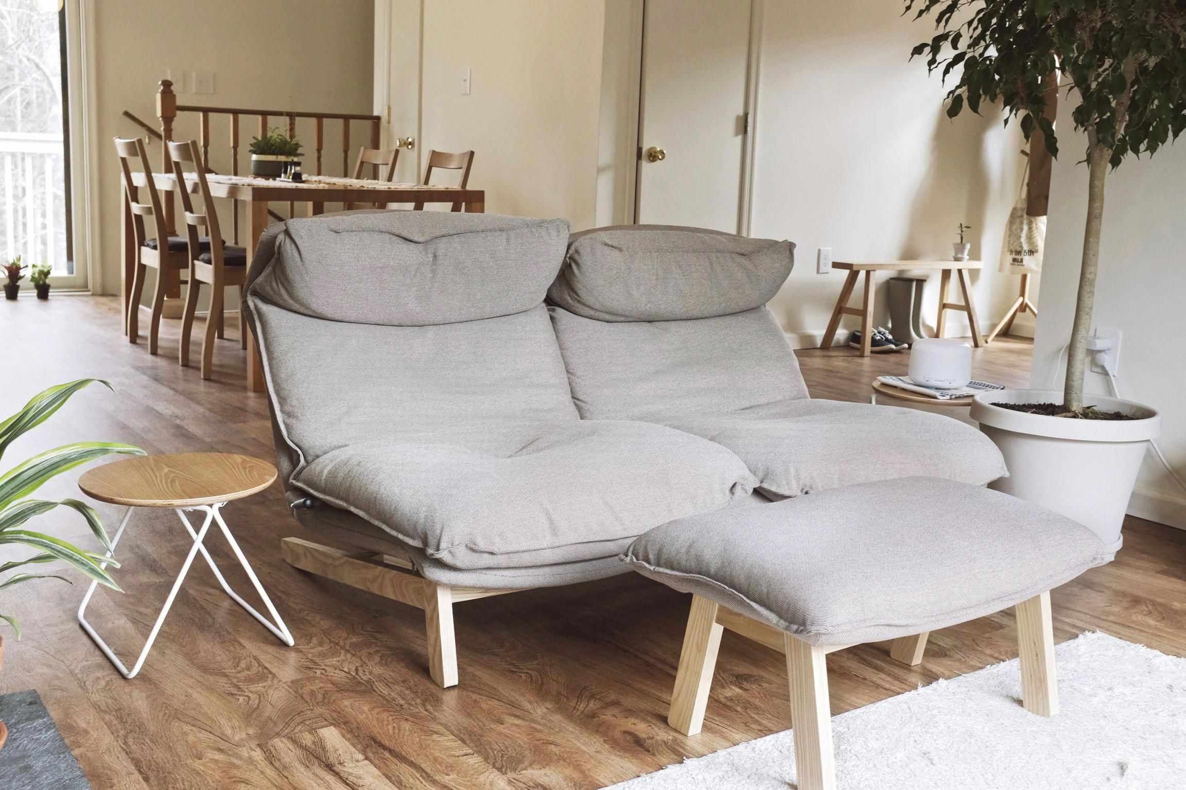 Muji S Reclining Sofa Is The Most Comfortable Piece Of Furniture Ever Invented The Texture Of The Quality Living Room Furniture Minimalist Sofa Muji Furniture