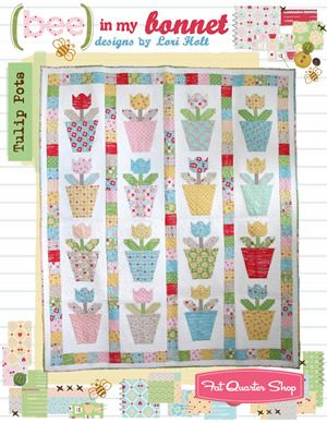 Tulip Pots Quilt Pattern Lori Holt of Bee in my Bonnet #BMB-236 ... : lori holt quilt patterns - Adamdwight.com