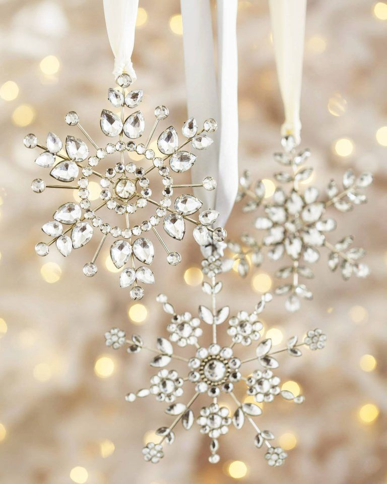 snowflake christmas decoration ideas