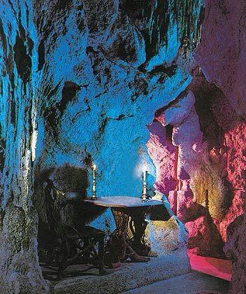 Neuschwanstein Castle Interior Grotto Neuschwanstein Castle Fairytale Castle Castle Bavaria