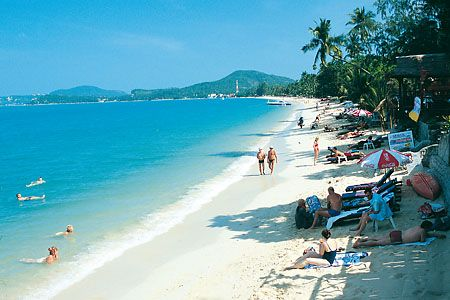 Thailand - Lamai Beach  i must go one day  | Around the