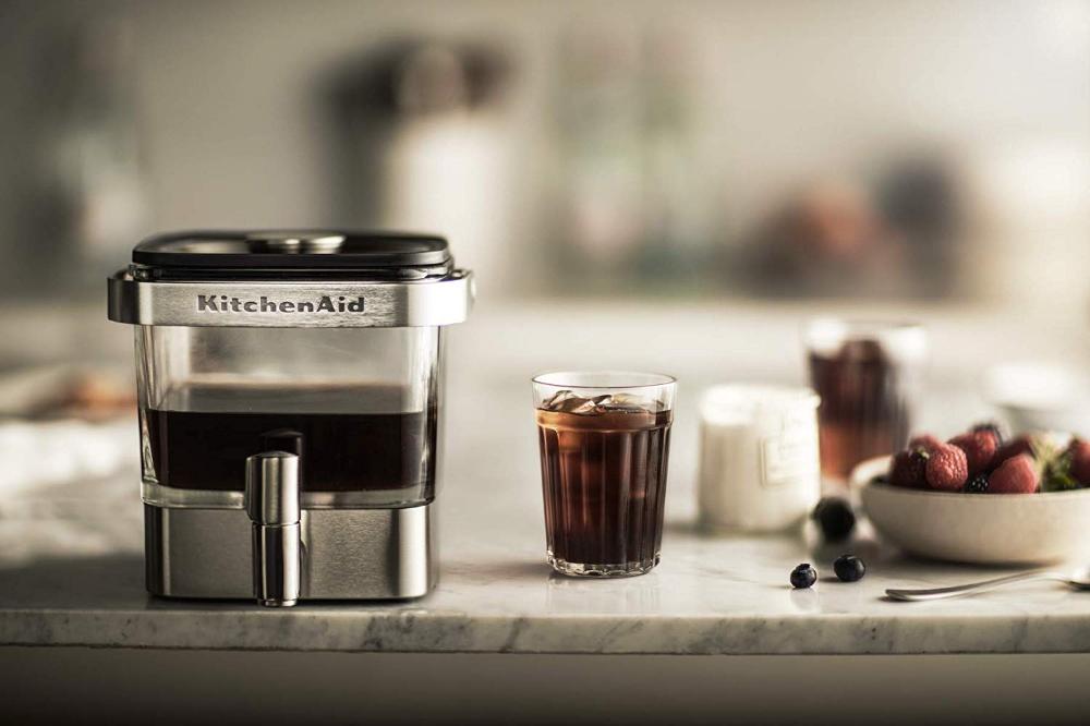 Amazon KitchenAid kcm4212sx Cold Brew Coffee Maker、つや消し