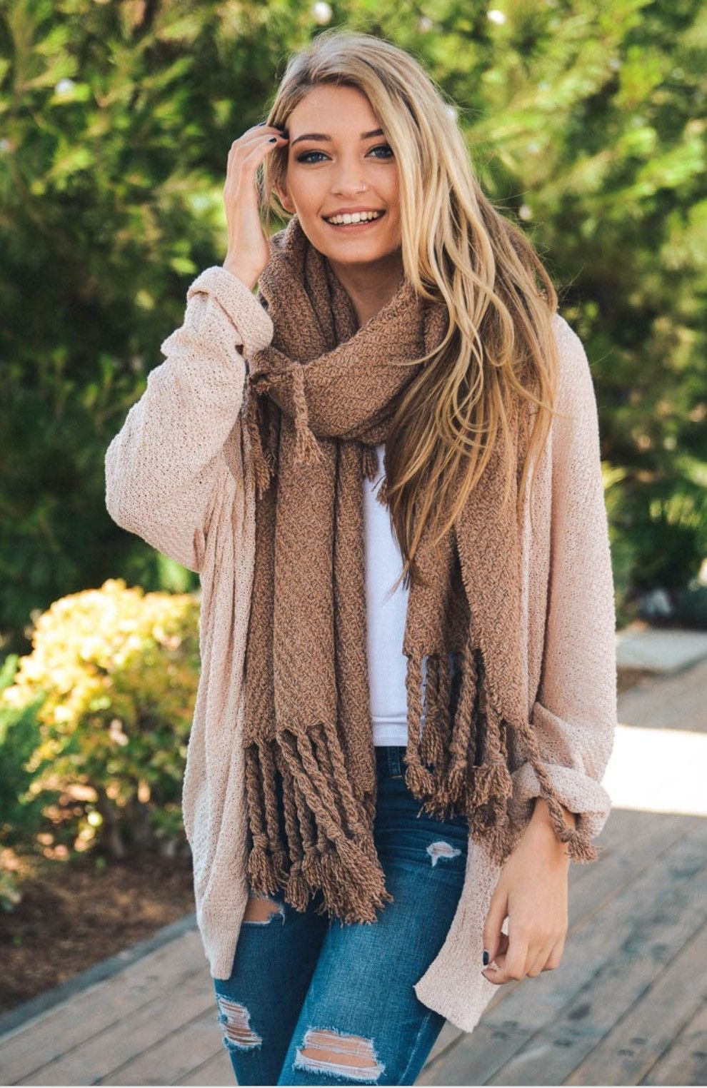 Chunky Oversized Blanket Scarf