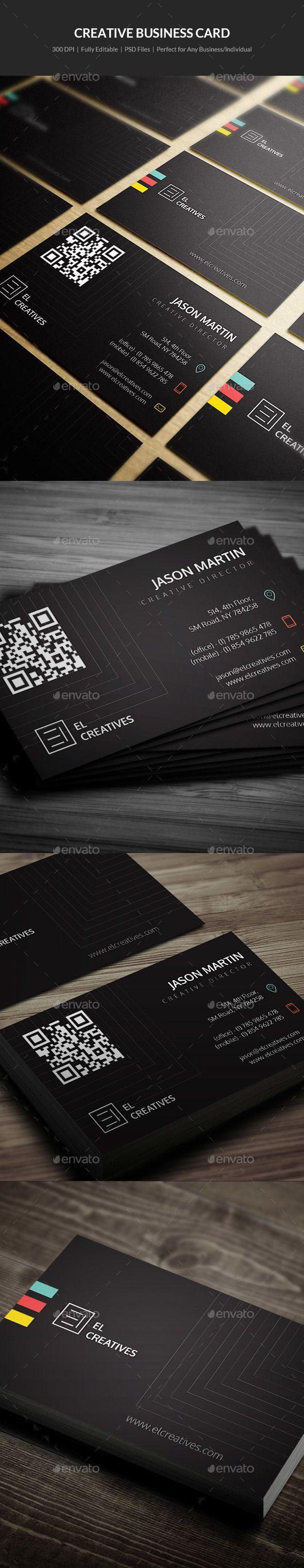 Creative Business Card - 25 | Business cards, Business and Creative