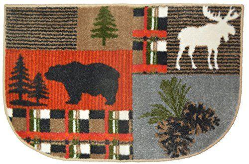 Woodland River Embroidered Dish Towel And Pot Holder Set