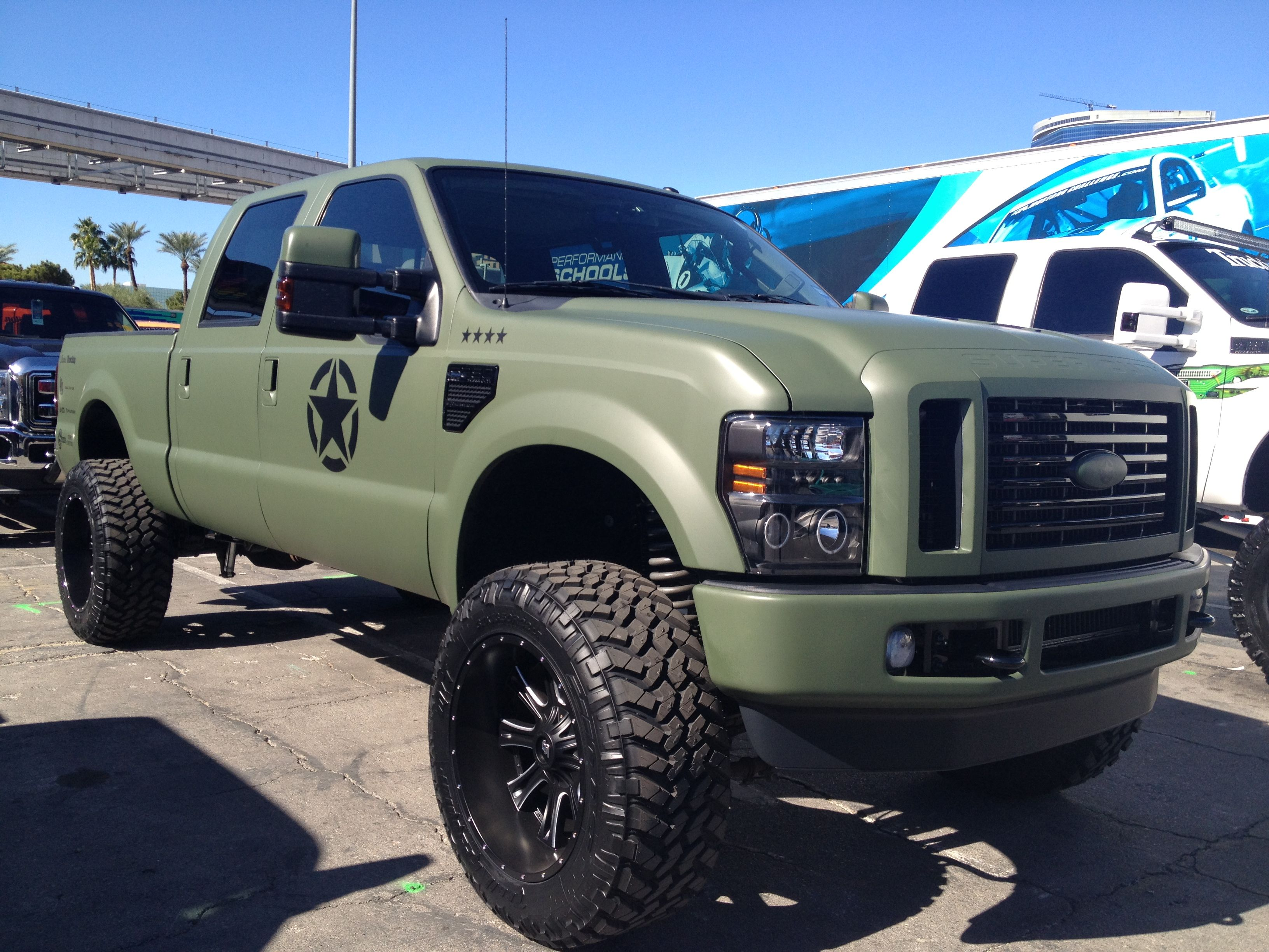Ford F-350 Warbird. Love everything about this truck ...