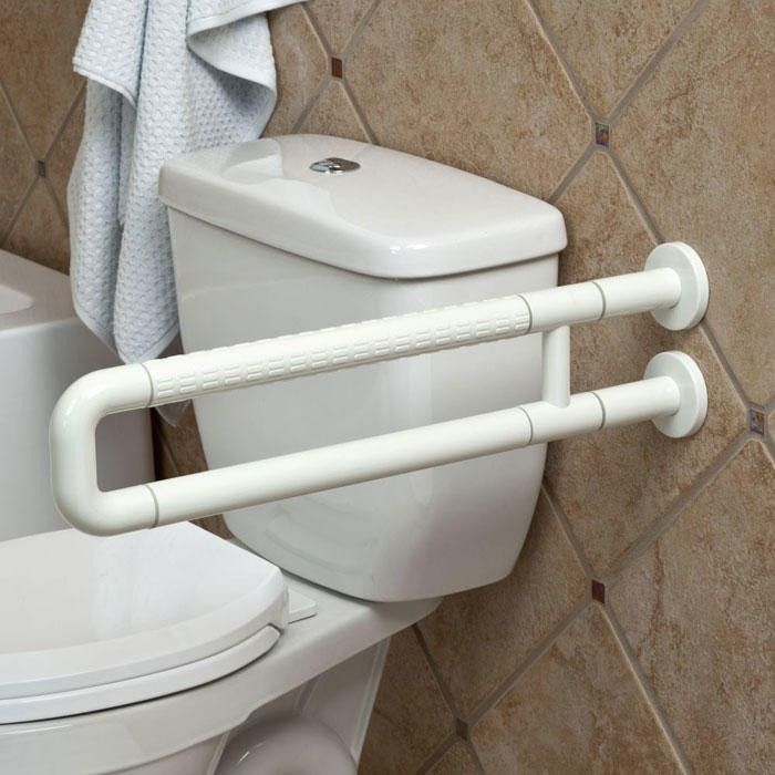 Marion U-Shape Grab Bar - Off-White | Grab bars