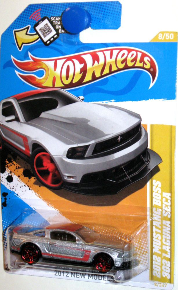 2012 Ford Mustang Boss 302 Leguna Seca Hot Wheels 2012 New Models 8 50 Silver Mustang Boss Hot Wheels Ford Mustang Boss 302