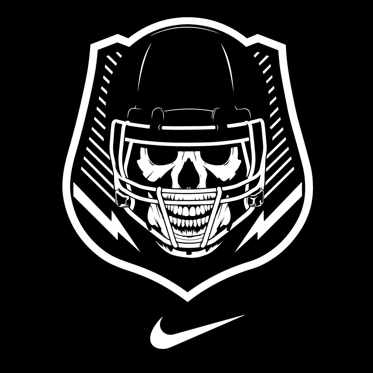 Nike Football The Opening Logo Vector Clipart In stock