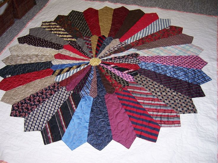 how to make a necktie quilt - Google Search | Quilts | Pinterest ... : tie quilt pattern - Adamdwight.com