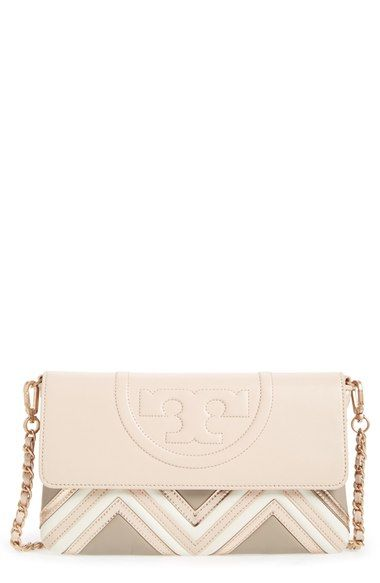 d93befd60768 TORY BURCH  Fleming Geo  Convertible Clutch.  toryburch  bags  shoulder  bags  clutch  lining  patent  hand bags