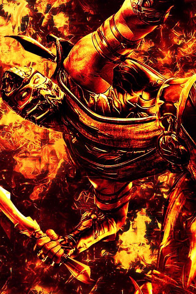 Mk Scorpion Iphone Wallpaper Mortal Kombat X Wallpapers Mortal Kombat Games Mortal Kombat