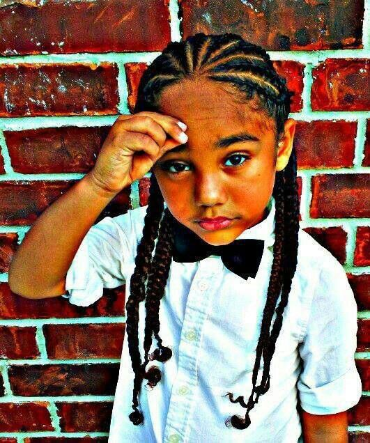 Pin By Boujeebhadazz On Itty Bitty People Swag Braids For Boys Boy Braids Hairstyles Boy Hairstyles