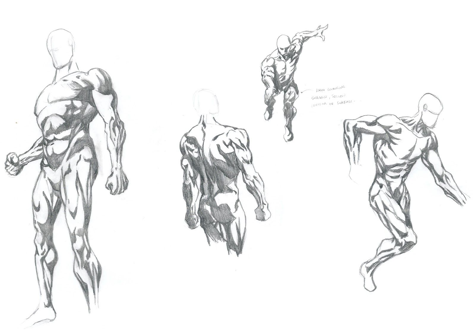 planes in figure drawing | david finch gnomon workshop rendering ...