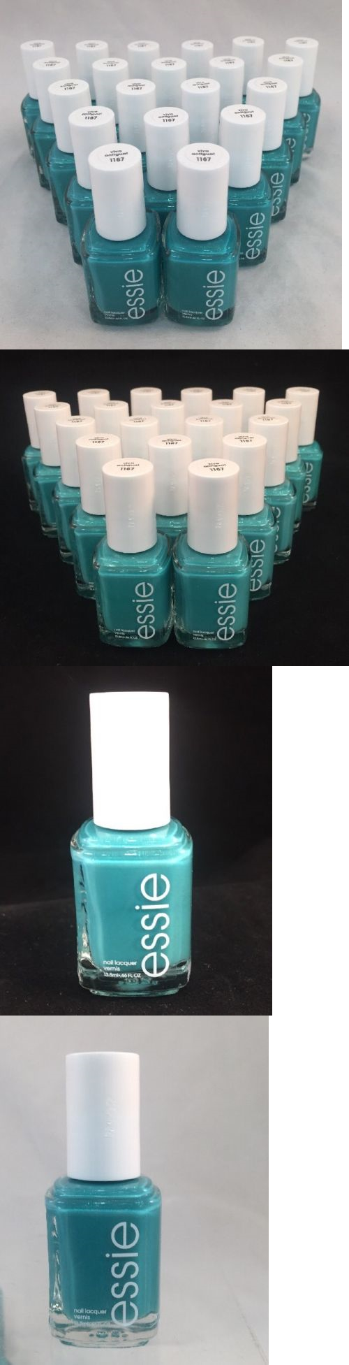 Nail Polish: 20 Essie Bulk Nail Polish Iridescent Crystalline Turquoise Shower Party Favor -> BUY IT NOW ONLY: $59.99 on eBay!