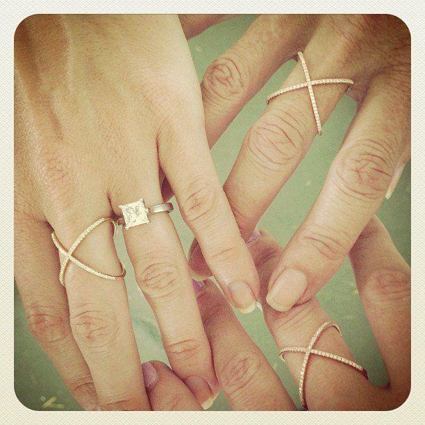 Diamond X Ring EF