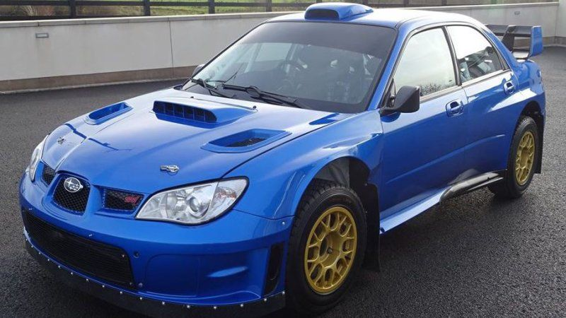 You can buy the last Subaru rally car driven by Colin