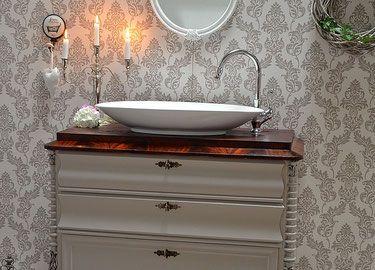 Landhaus Badezimmermöbel ~ Waschtische land liebe badmöbel landhaus waschtisch antik