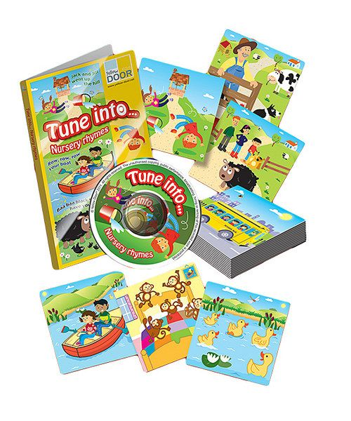 Look at this Tune Into Nursery Rhymes Learning Set on #zulily today!