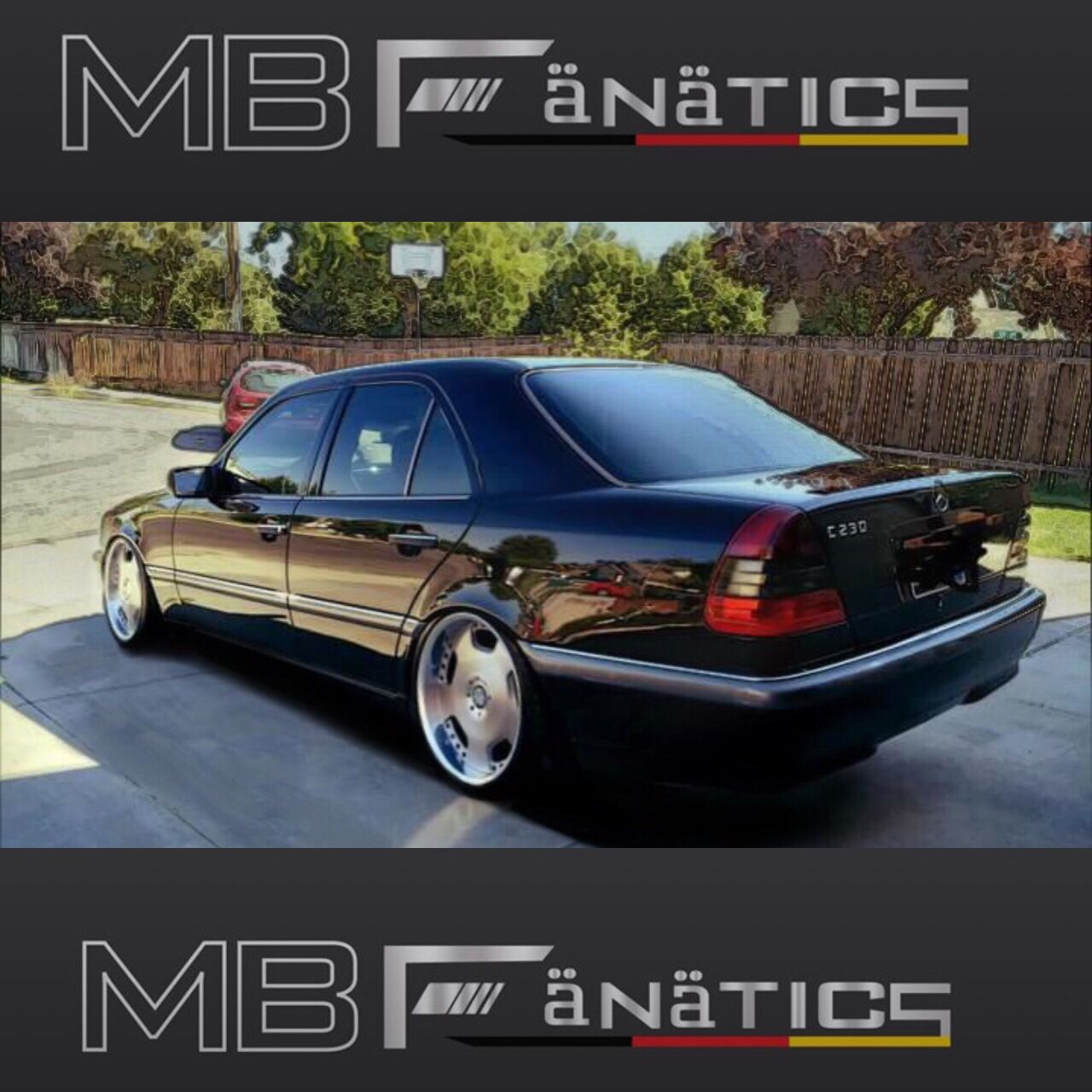 Mercedes Benz 1998 C230: Rocky's 1998 MB W202 C230 Photoshopped To The Stance I Am