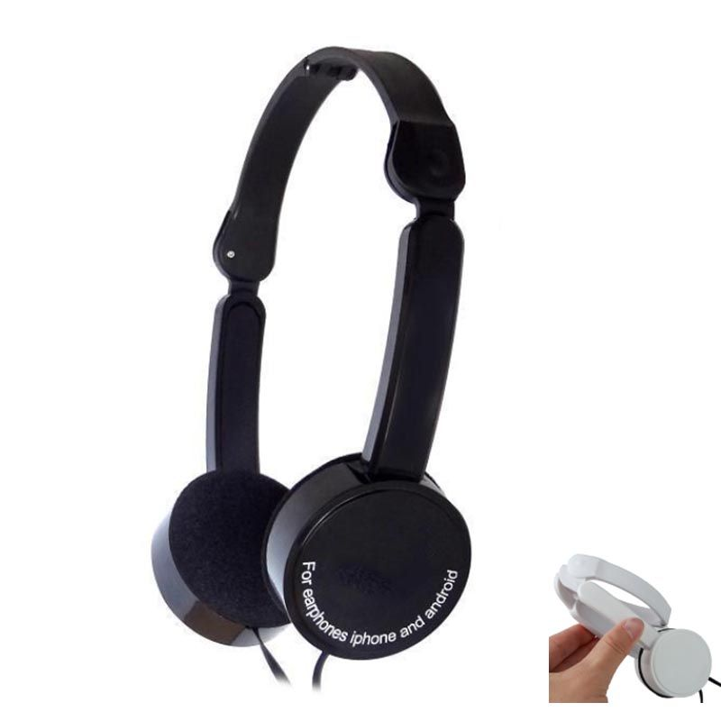 4cf42d2017b13a BBGear Foldable Headphone 3.5mm Wired Earphone with Mic Folding Gaming Headphones  Headset for Phone Computer MP3 Music Player | best-headphones-review.com