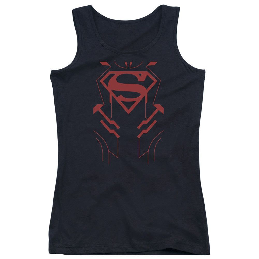 More DC Characters: Superboy Junior Tank Top