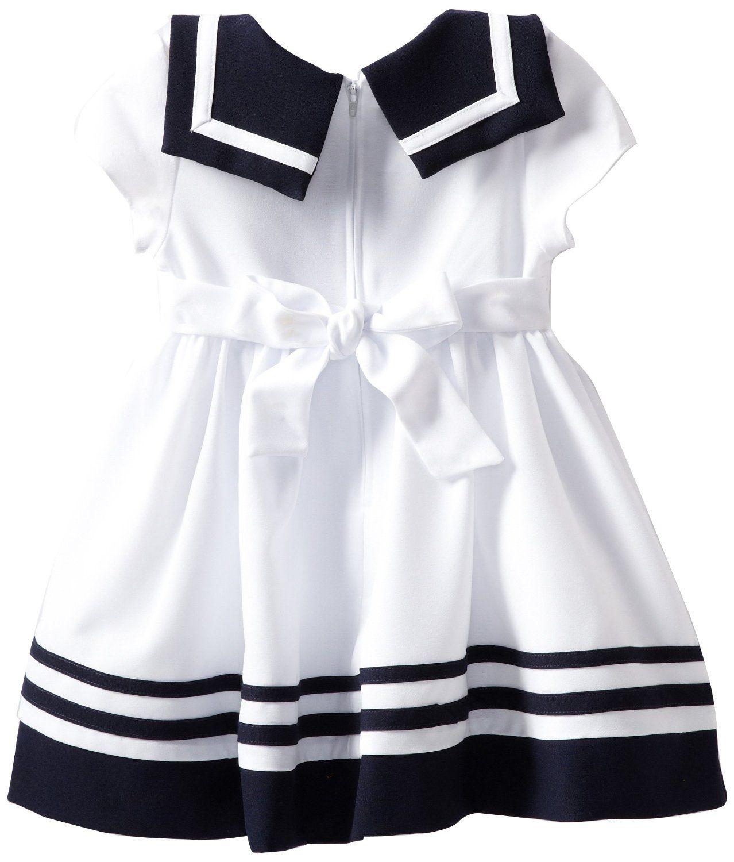 Amazon Bonnie Jean Girls 2 6X Vestido Náutica Bonnie Jean Ropa