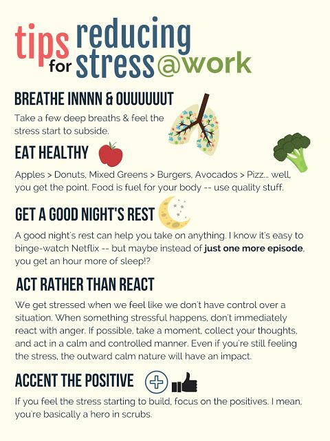 Tips For Reducing Stress at Work | Work stress, How to ...