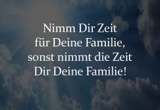 familie ist das wichtigste im leben
