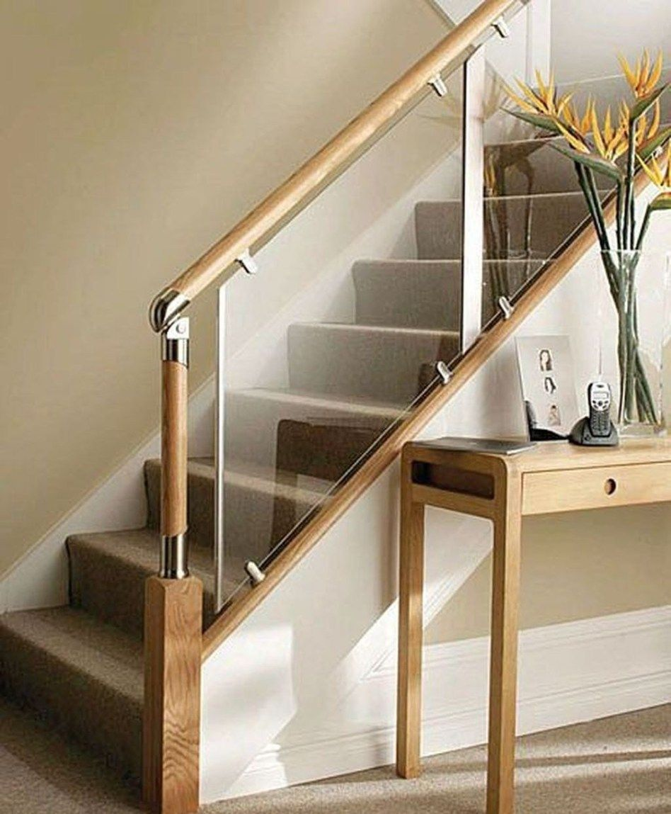 Affordable Glass Staircase Design Ideas 31