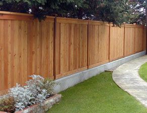 I Like The Idea Of The Fence On Concrete Footer Adds