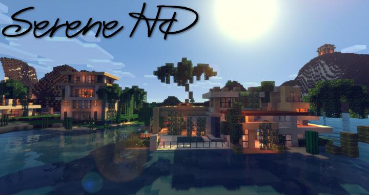 SERENE HD [1.14] (Realistic) Minecraft Texture Pack | Serenity, Texture packs, Minecraft