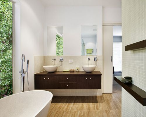 Feng Shui Asian Style Bathroom Double Bowl Vanity Sinks  Home Gorgeous Feng Shui Small Bathroom Decorating Inspiration