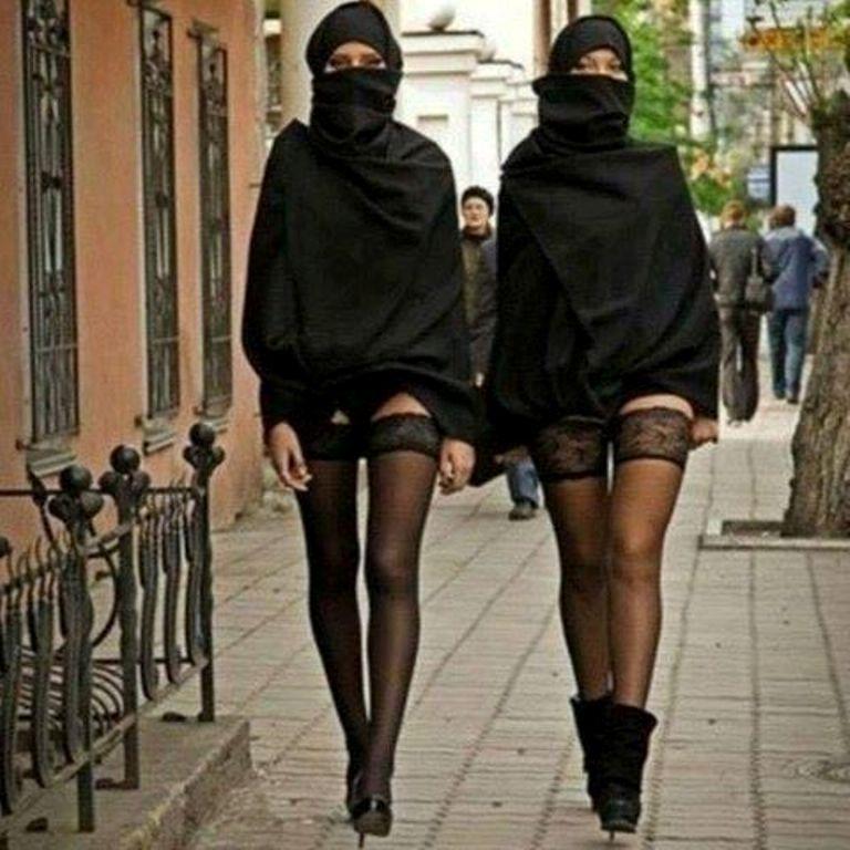Картинки по запросу хиджабе и чулках