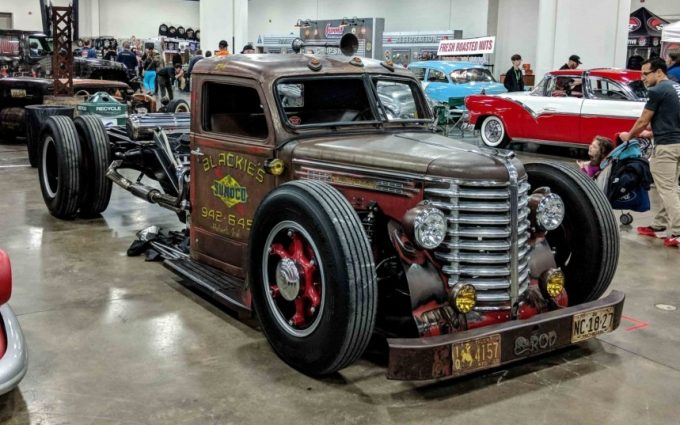 MidEngine Diamond T Rat Rod Dually! Rat rods truck, Rat