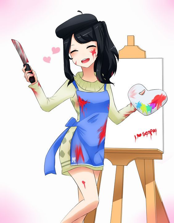 So What Are Painting Today Yandere Chan Yandere Simulator W