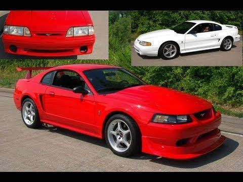 Ford Svt Cobra R Mustang Collection Extremely Rare 1993 1995 And 2000