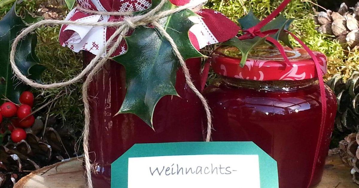 weihnachtskonfit re mein wintertraum rezept marmeladerezepte. Black Bedroom Furniture Sets. Home Design Ideas