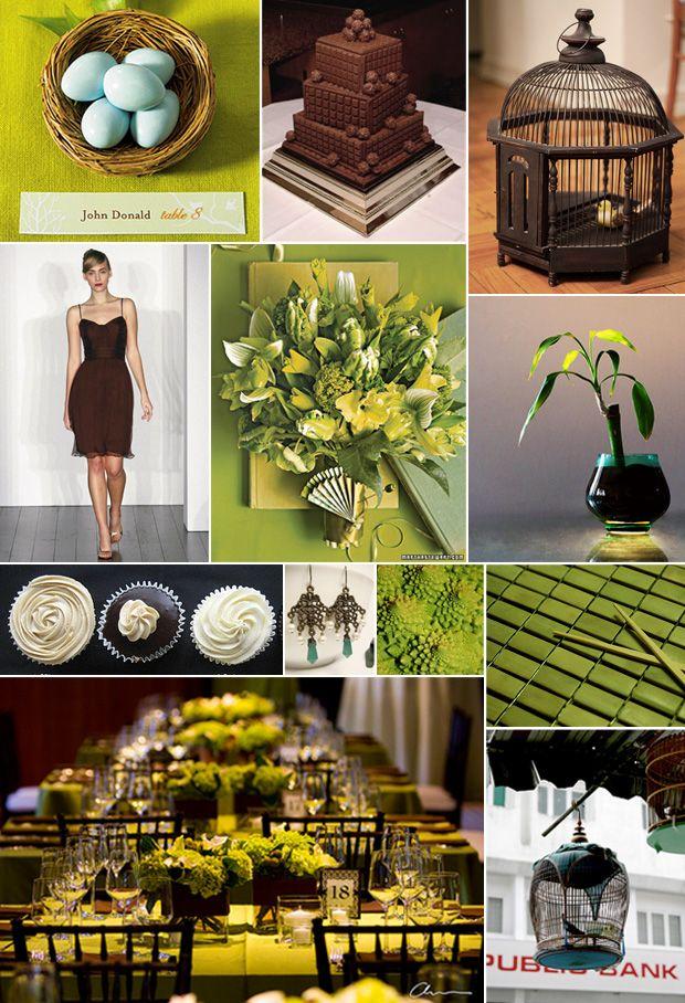 OMG-Im-Getting-Married-Moodboard-Green-Turquoise-Brown | Wedding ...