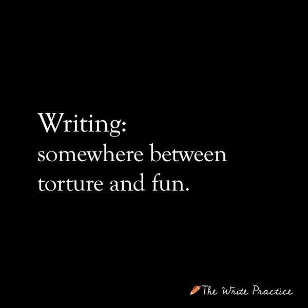 Image result for writing between torture and fun