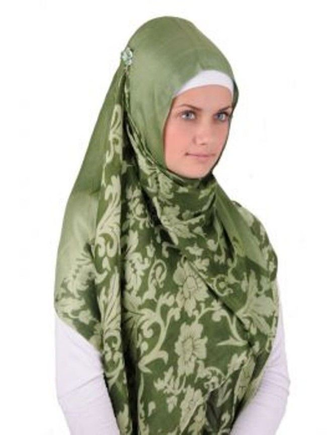 Beautiful Floral Hijab Prints and Styles