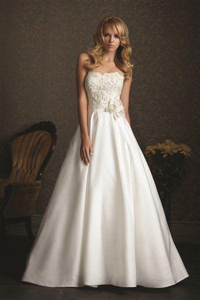 Allure Bridal Gown 2512 #wedding #dress
