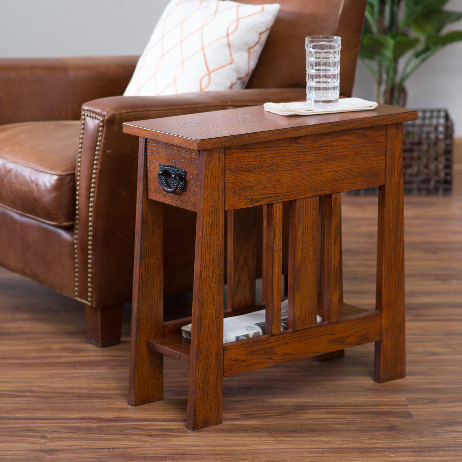 Belham Living Everett Mission Side Table Www Hayneedle Com Style End Tables Room Furniture